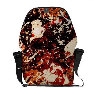 SUNSET (an abstract art design) ~ Commuter Bags