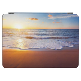 Sunset and beach iPad air cover