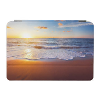 Sunset and beach iPad mini cover