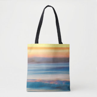 Sunset and Ocean | Cape Disappointment State Park Tote Bag