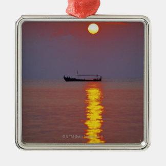 Sunset and Sea 2 Christmas Ornament