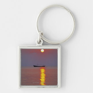 Sunset and Sea 2 Key Ring