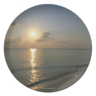 Sunset and Sea 2 Plate