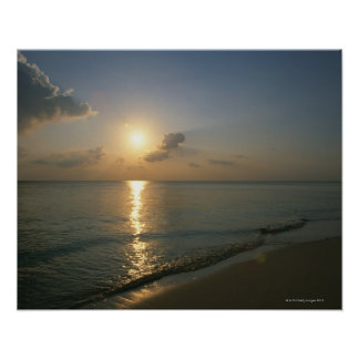 Sunset and Sea 2 Poster