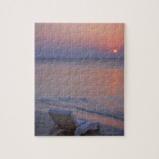 Sunset and Sea Jigsaw Puzzle