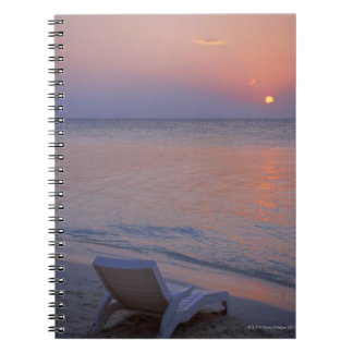 Sunset and Sea Notebook
