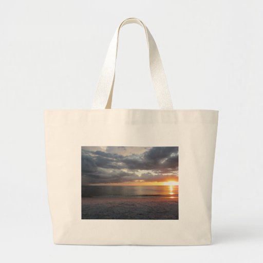 Sunset and storm bag