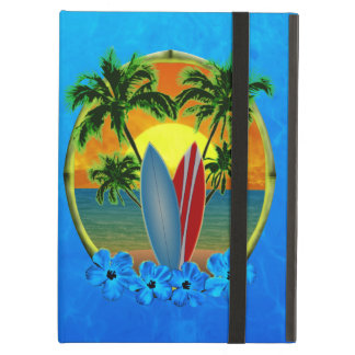 Sunset And Surfboards iPad Air Cover