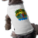 Sunset And Surfboards Sleeveless Dog Shirt