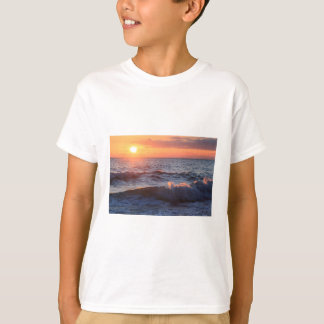 Sunset and Waves T-Shirt