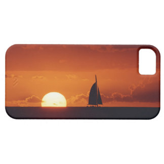 Sunset and Yacht 2 Barely There iPhone 5 Case