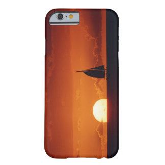 Sunset and Yacht 2 Barely There iPhone 6 Case