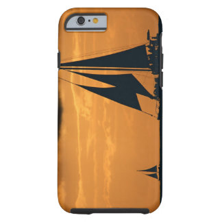 Sunset and Yacht Tough iPhone 6 Case
