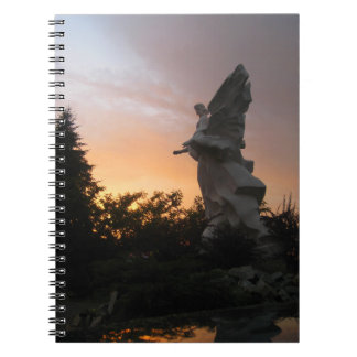 Sunset Angel - Ukraine Notebook