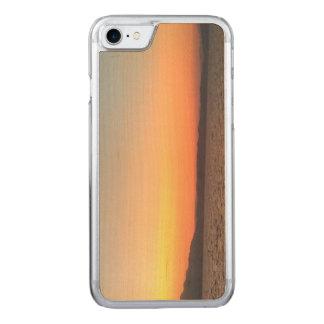 Sunset Apple iPhone 7 Slim Maple Wood Case