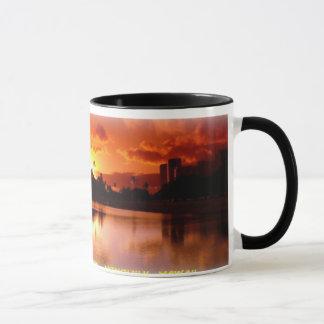 Sunset at Ala Moana Beach Mug