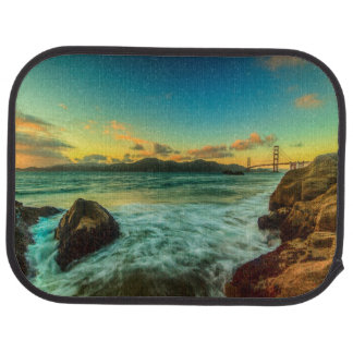 Sunset at Baker Beach Car Mat
