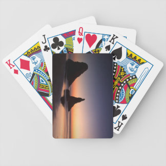 Sunset at Bandon Oregon Deck Of Cards