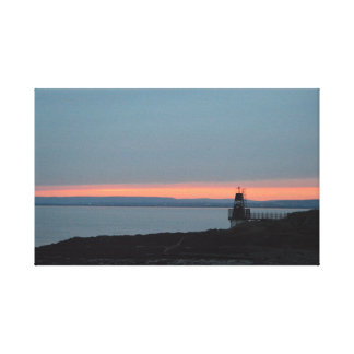 Sunset at Battery Point Canvas Print