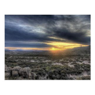 Sunset at Big Bend National Park, Texas Postcard