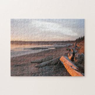 Sunset at Birch Bay Jigsaw Puzzle
