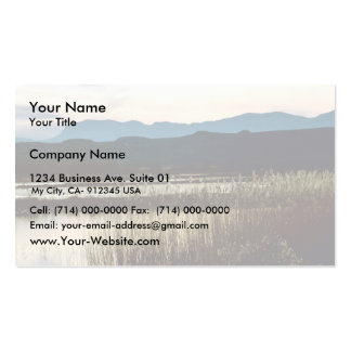 Sunset at Bosque del Apache Double-Sided Standard Business Cards (Pack Of 100)