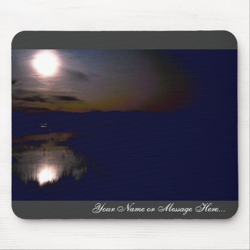 Sunset at Bosque Del Apache National Wildlife Refu Mouse Pad