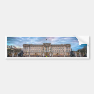 Sunset at Buckingham Palace, London Bumper Sticker