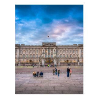 Sunset at Buckingham Palace, London Postcard