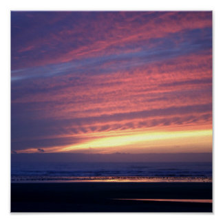 Sunset at Cannon Beach Posters