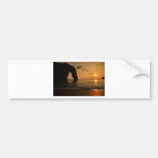 Sunset at Durdle Door Bumper Sticker