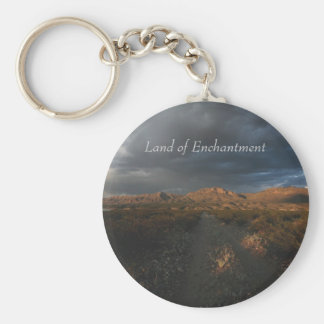 """""""Sunset at Eagle Point"""" Basic Round Button Key Ring"""