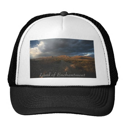 """Sunset at Eagle Point Mesh Hats"