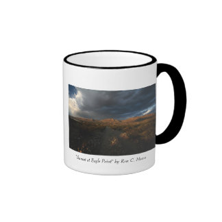 """Sunset at Eagle Point"" Ringer Mug"