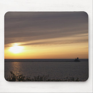 Sunset at Fort Ontario Photo by: TEYoung Mouse Pad