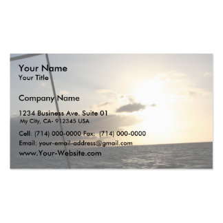 Sunset At Hawaiian Business Cards