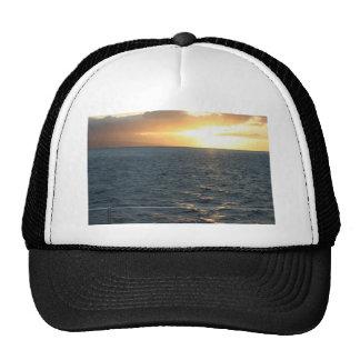 Sunset At Hawaiian Mesh Hat
