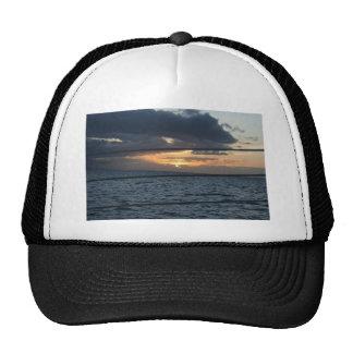 Sunset At Hawaiian Trucker Hats