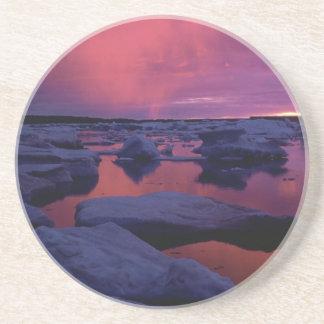 Sunset at Hudson Bay, Canada Coaster