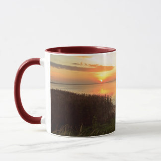 Sunset at Kidwelly Quay Mug