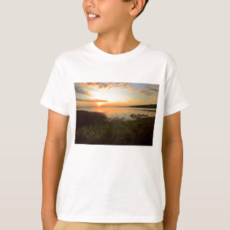 Sunset at Kidwelly Quay T-Shirt