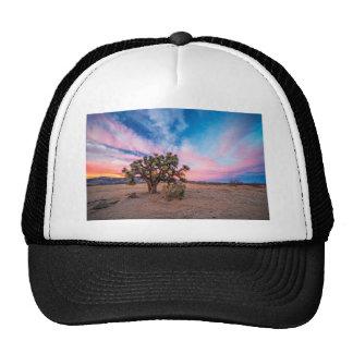 Sunset at Mojave Hats