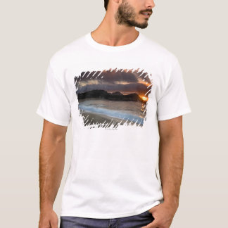 Sunset at Monastery Beach, Carmel, California, T-Shirt