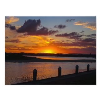 Sunset At Monkey Mia -  Photo Print