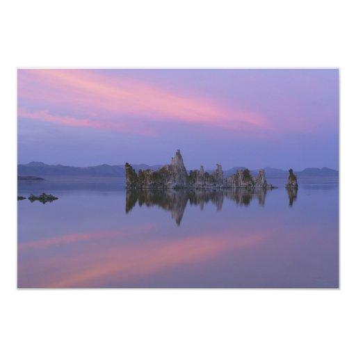 Sunset at Mono Lake, CA. Photo Print