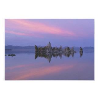 Sunset at Mono Lake, CA. Photographic Print