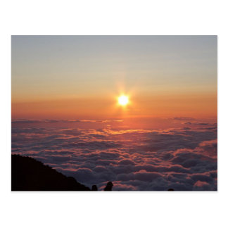 Sunset at Mt. Fuji Postcard