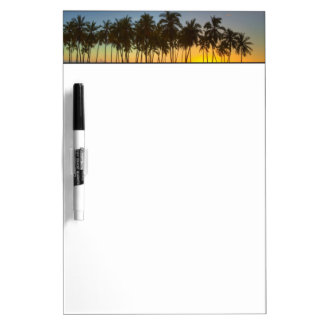 Sunset at National Historic Park Pu'uhonua o Dry Erase Board