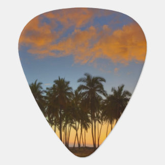 Sunset at National Historic Park Pu'uhonua o Guitar Pick