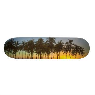 Sunset at National Historic Park Pu'uhonua o Skateboard Decks